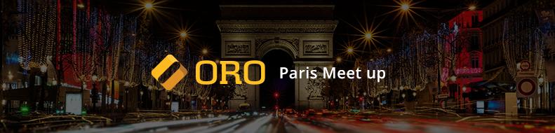 Oro MeetUp in Paris
