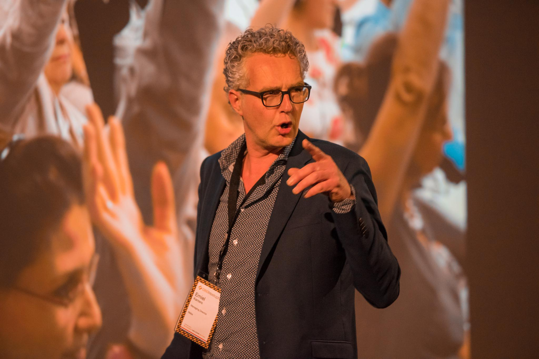 Emiel Kanters at Oro MeetUp