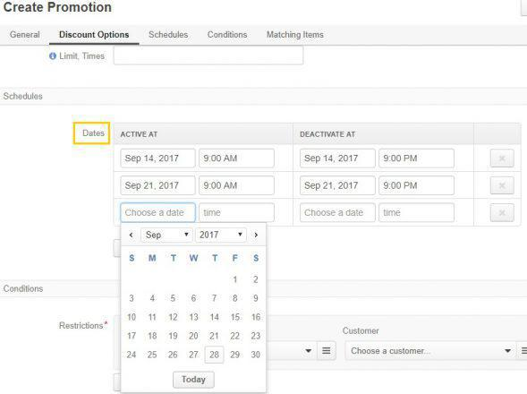 scheduling-promotions
