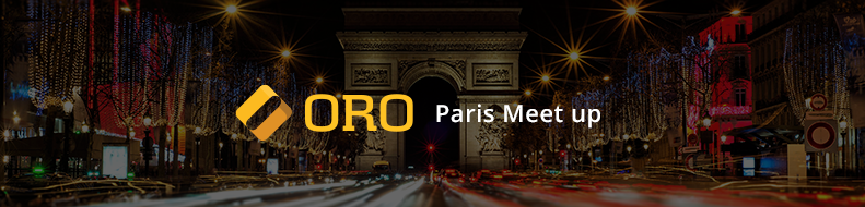 Oro MeetUp in Paris