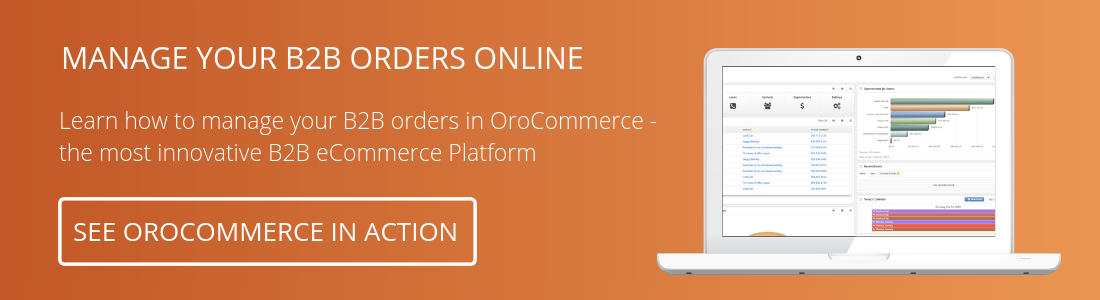 Management Console - Try OroComerce Demo