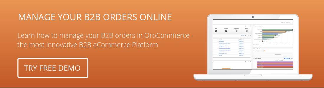 ecommerce trends - B2B eCommerce