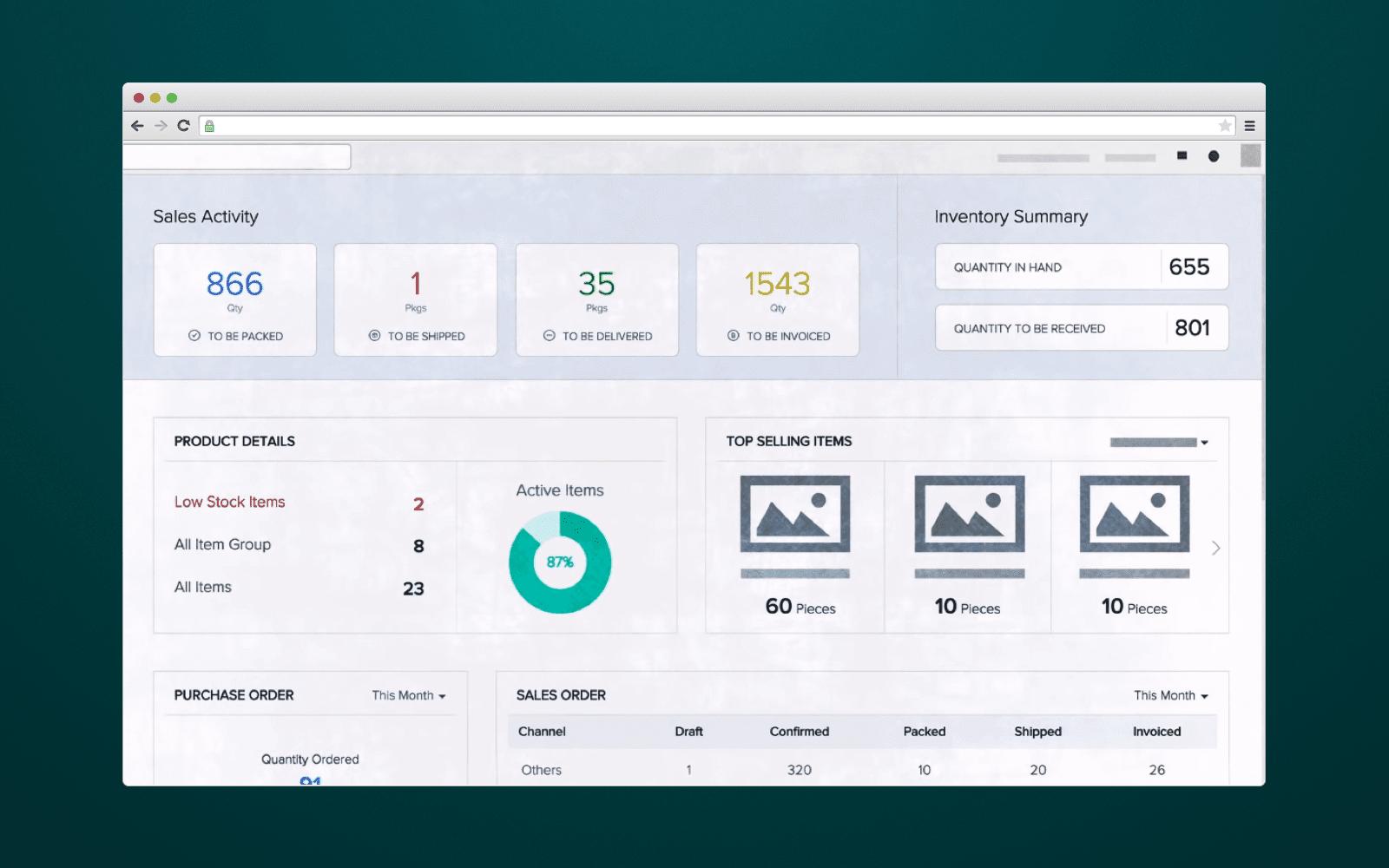 ERP-Dashboard