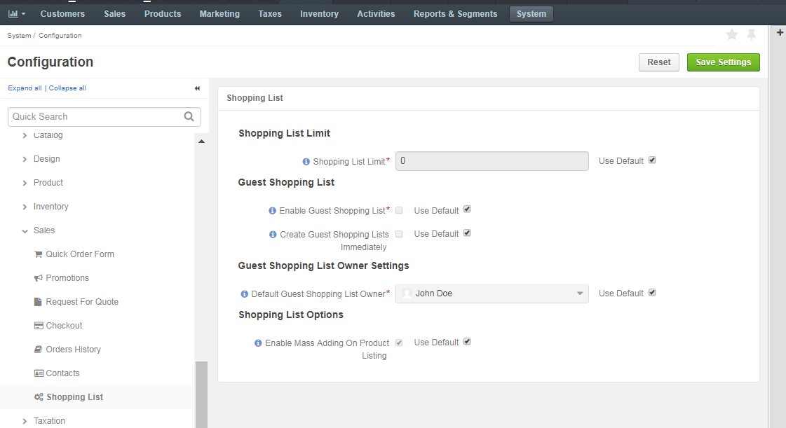 Configure guest access orocommerce for Number one online shopping site