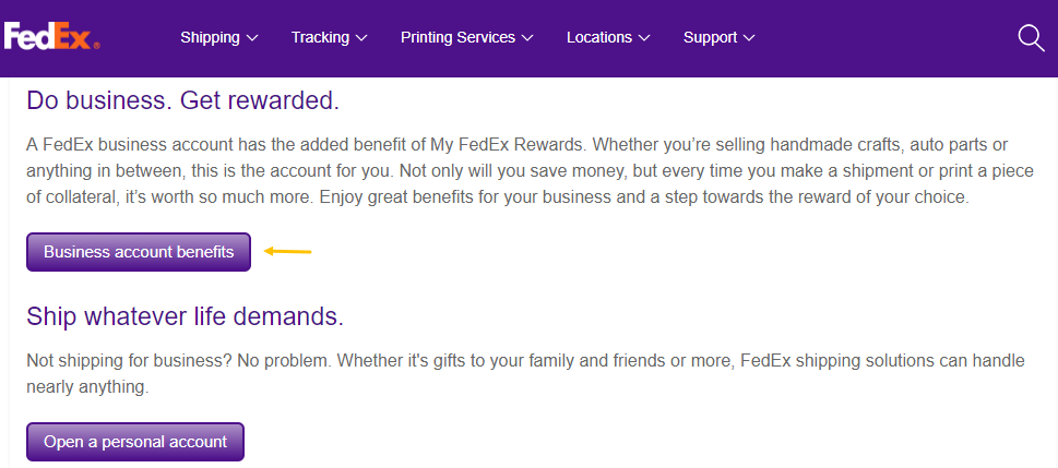 Images Fedex Business Account