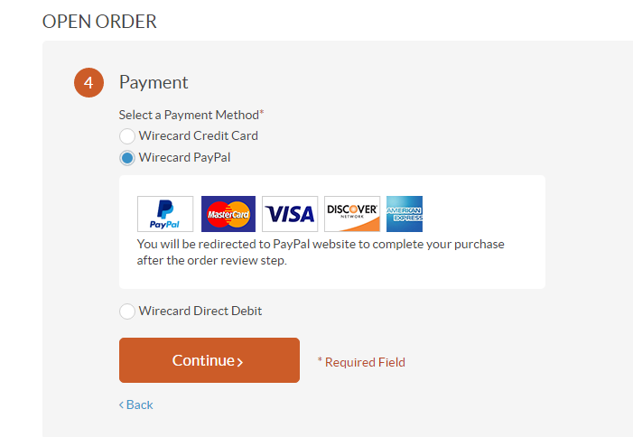 Paypal Wirecard