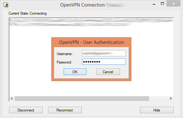 VPN authentication