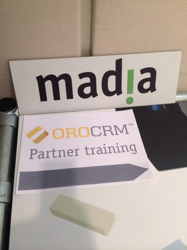 OroCRM Partner Training - Madia