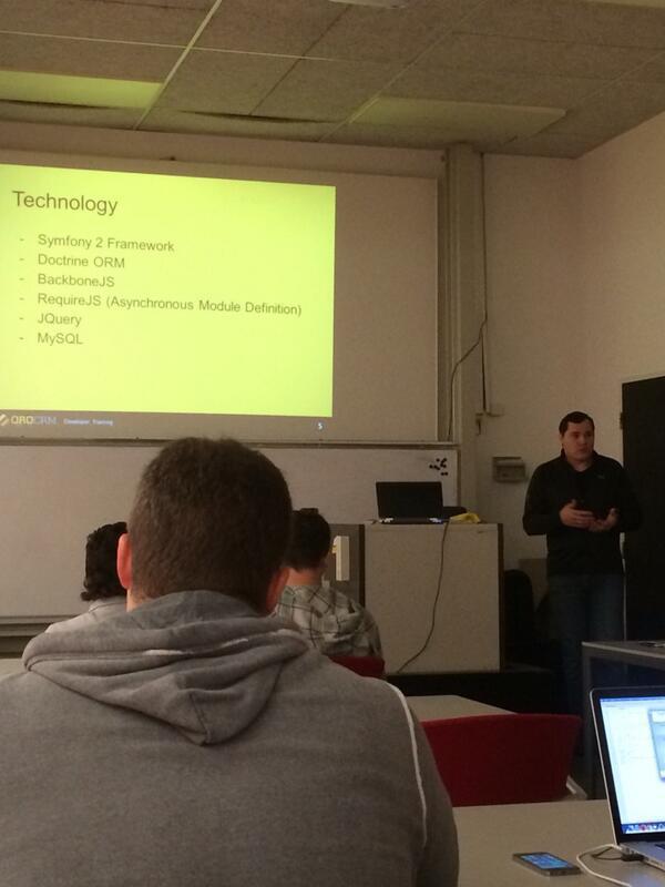 OroCRM Partner Training - Dima Soroka