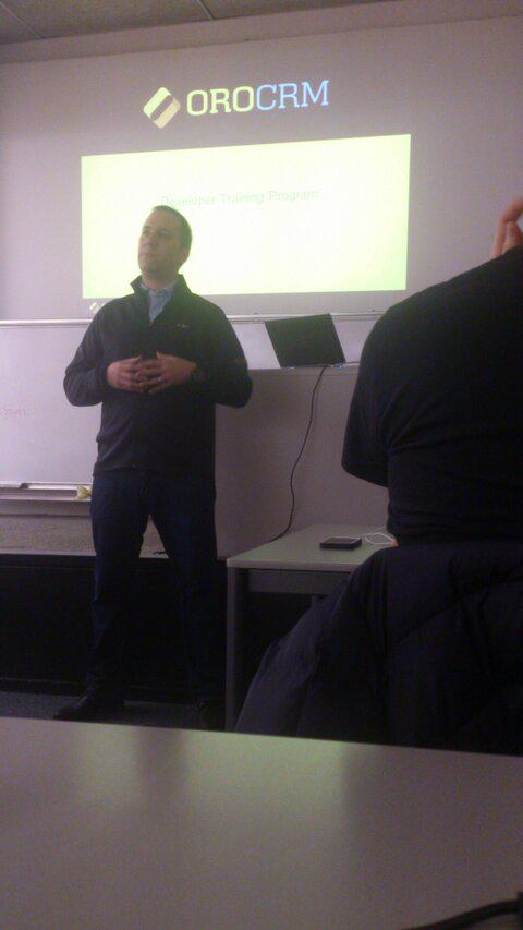 OroCRM Partner Training - Yoav