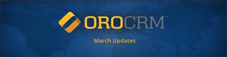 Oro March Updates
