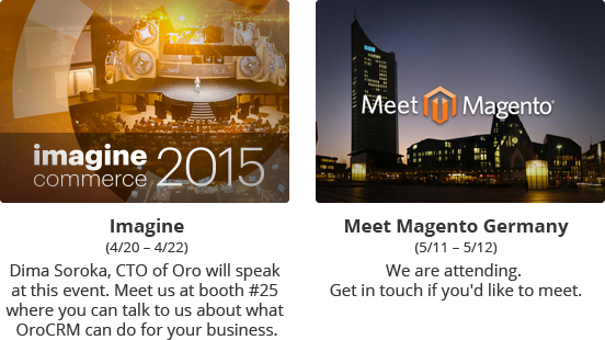 Imagine conference and Meet Magento Germany