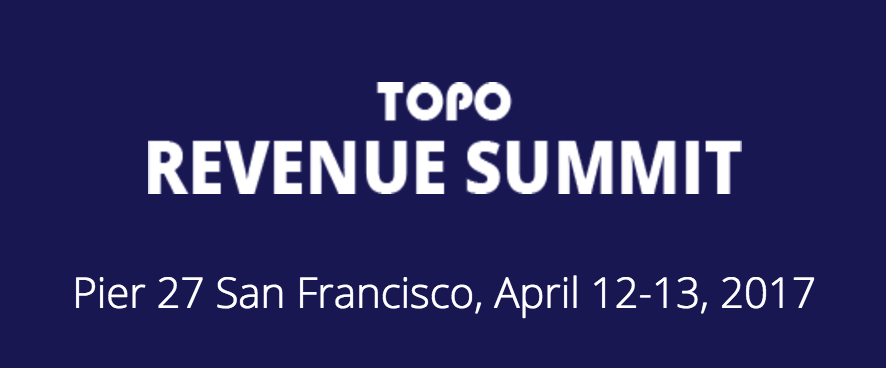 topo revenue summit 2017