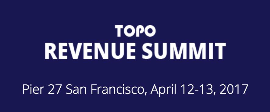 topo revenue summit 2017