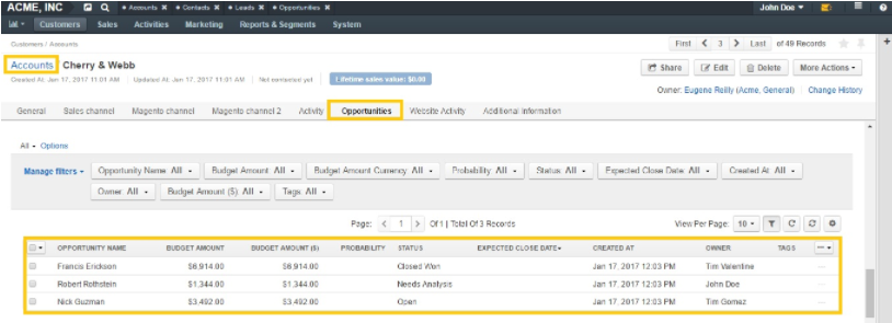 Improved Sales Pipeline - Feature Highlight