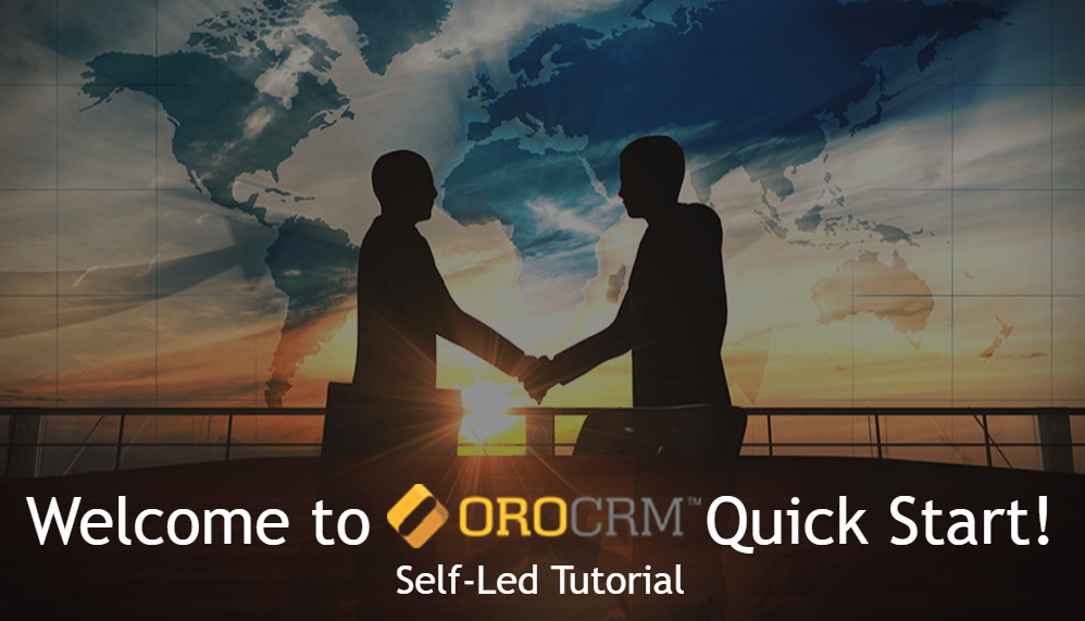 Getting Started with OroCRM