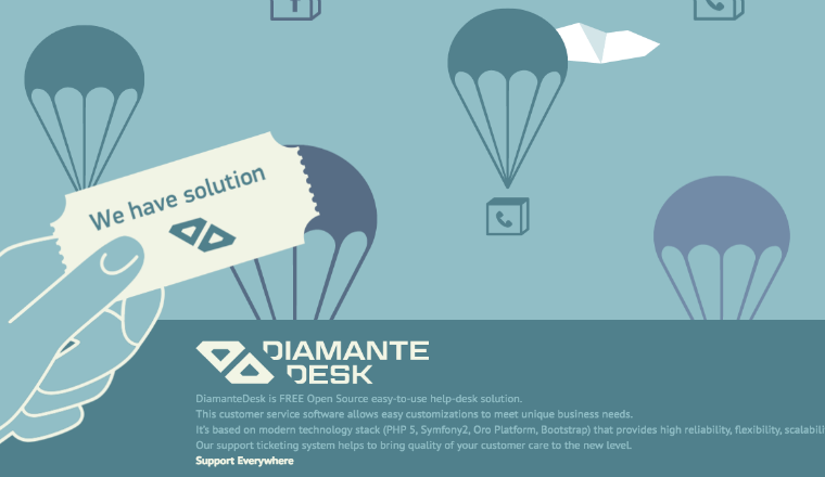 DiamanteDesk service desk software