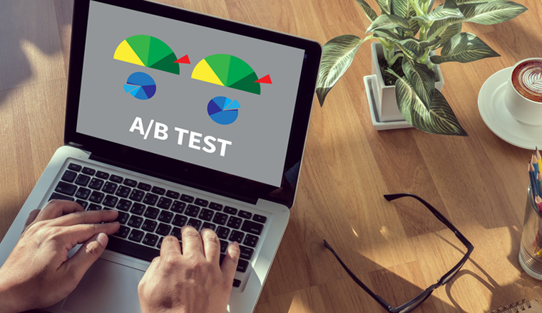 a/b tests for b2b