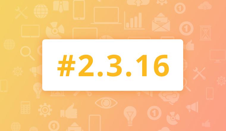 Maintenance Release for OroCRM Enterprise Edition 2.3.16
