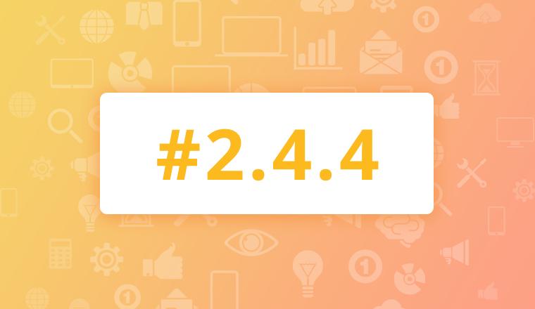 Maintenance Release for OroCRM Enterprise Edition 2.4.4