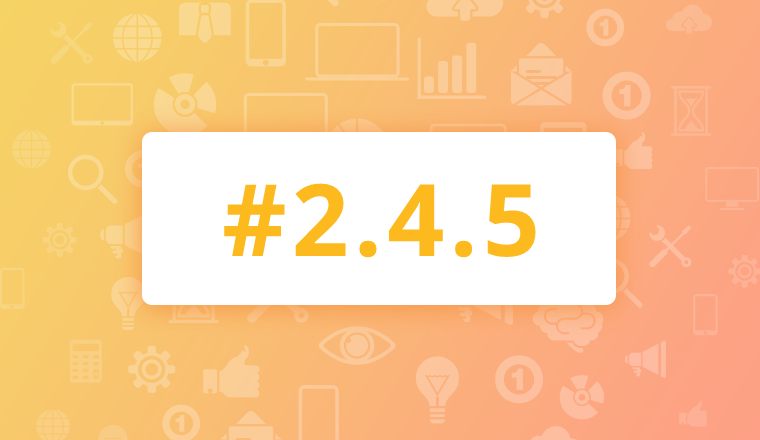 We'd like to inform our community of the immediate availability of the maintenance release of version 2.4.4 for OroCRM EE