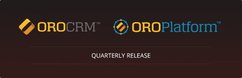 OroCRM and OroCommerce