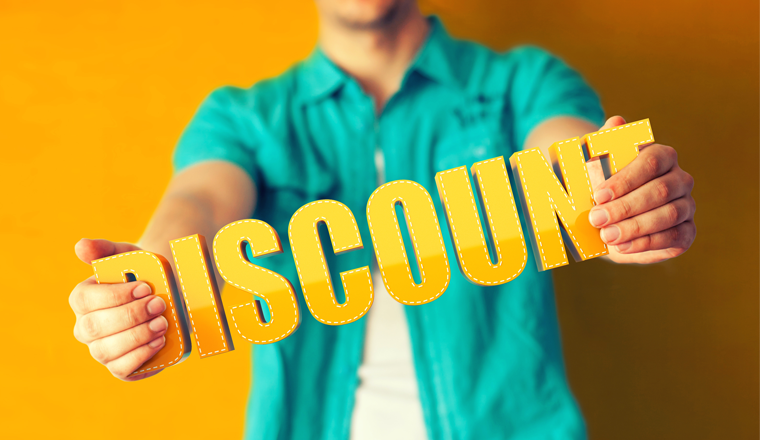 a/b testing discounts