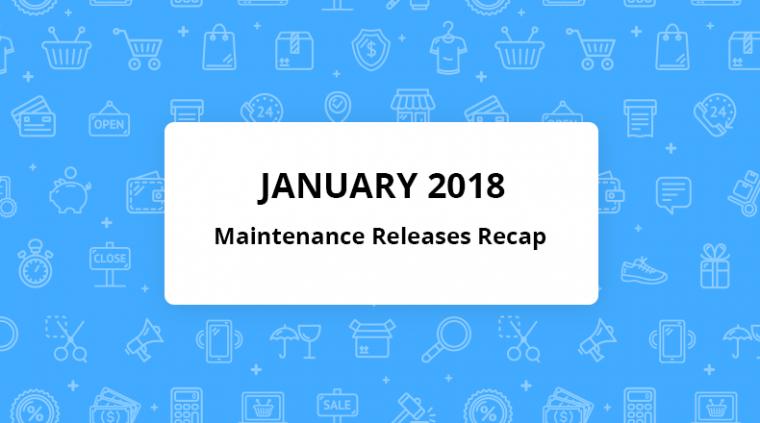 orocrm january maintenance releases recap