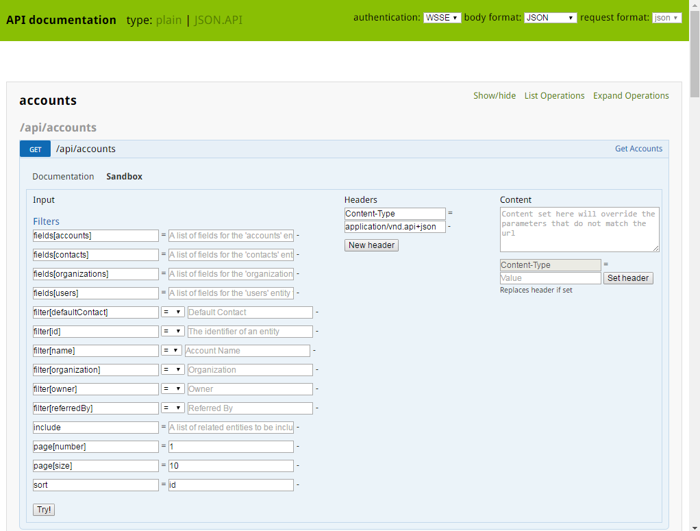 Web Services API - OroCRM - Open-Source CRM