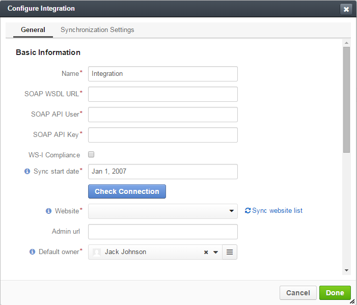 Integration with Magento - OroCRM - Open-Source CRM