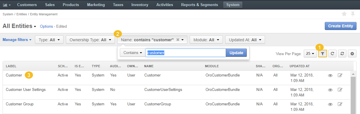Examples of Creating Custom Entity Fields - OroCRM - Open-Source CRM