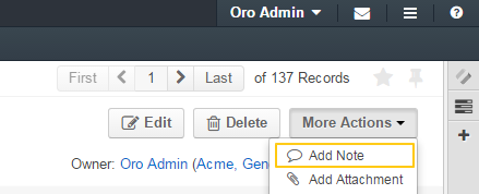 The add note button becomes available if the notes check box is enabled