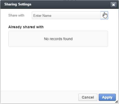 Share records