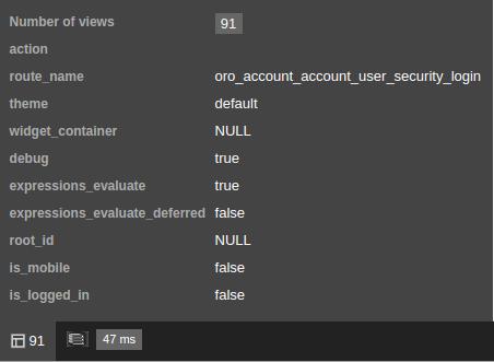 Layout developer toolbar