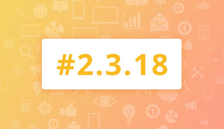 Maintenance Release for OroCRM Enterprise Edition 2.3.18