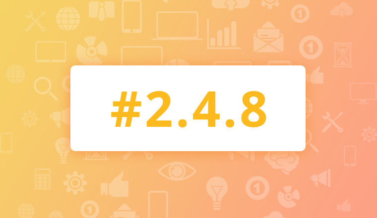 Maintenance Release for OroCRM Enterprise Edition 2.4.8